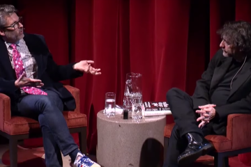 Neil Gaiman and Michael Chabon