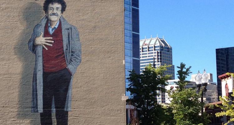 Kurt Vonnegut graffiti