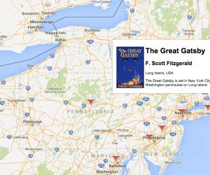 Google maps novels